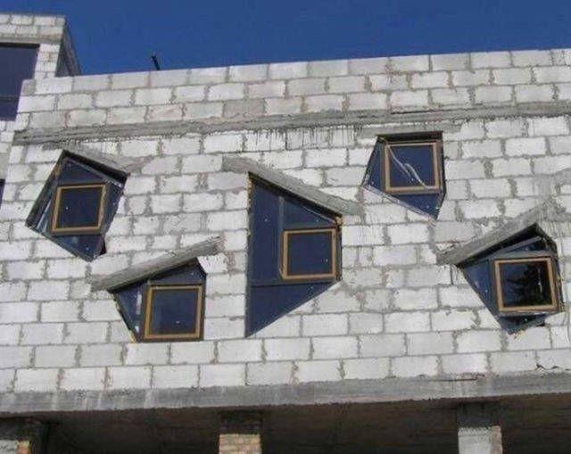 Фейлы в исполнении строителей