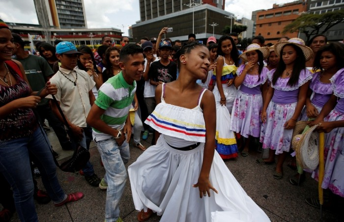 Кадры повседневной жизни в Венесуэле