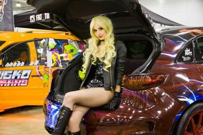 Новинки автовыставки Moscow Tuning Show 2016
