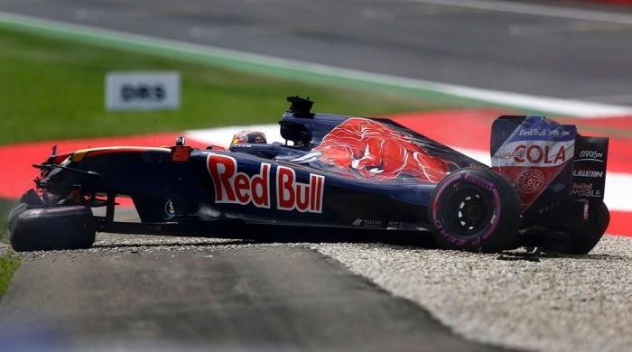 Даниил Квят разбил свой болид во время квалификации Гран-при Австрии