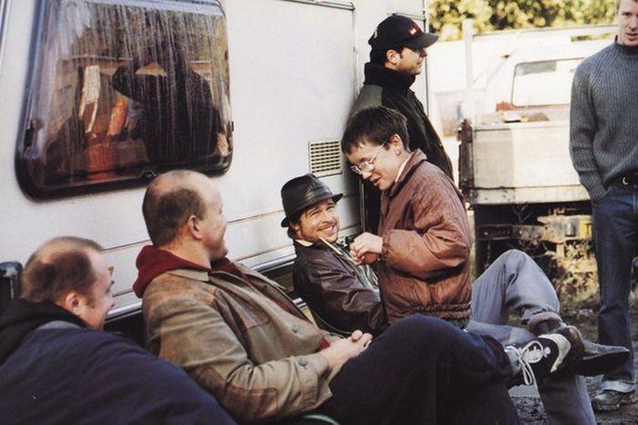 Как снимали комедийный триллер «Большой куш» (12 фото)