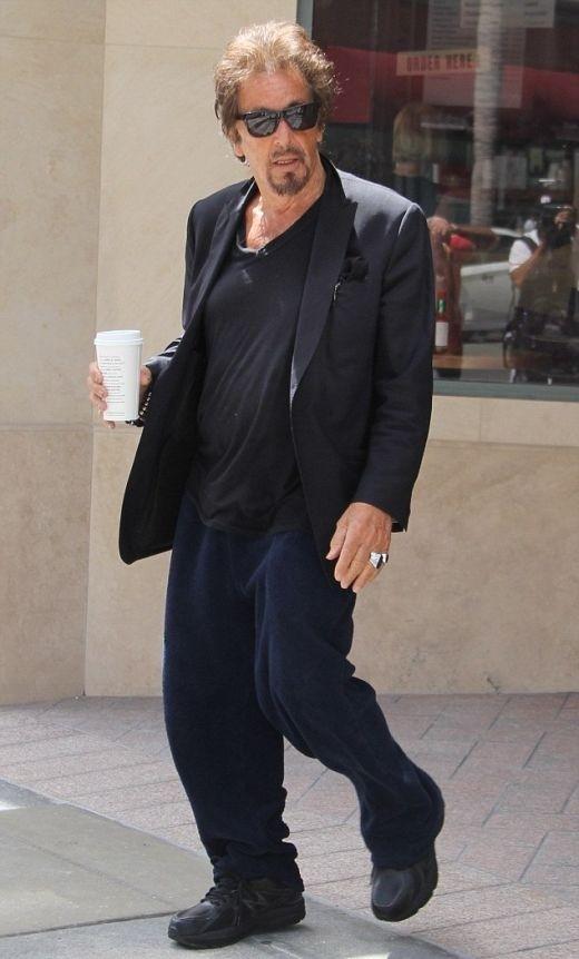 СМИ упрекнули Аль Пачино за «пивной живот»