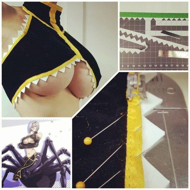 Девушка изготовила удивительный костюм для косплея своими руками