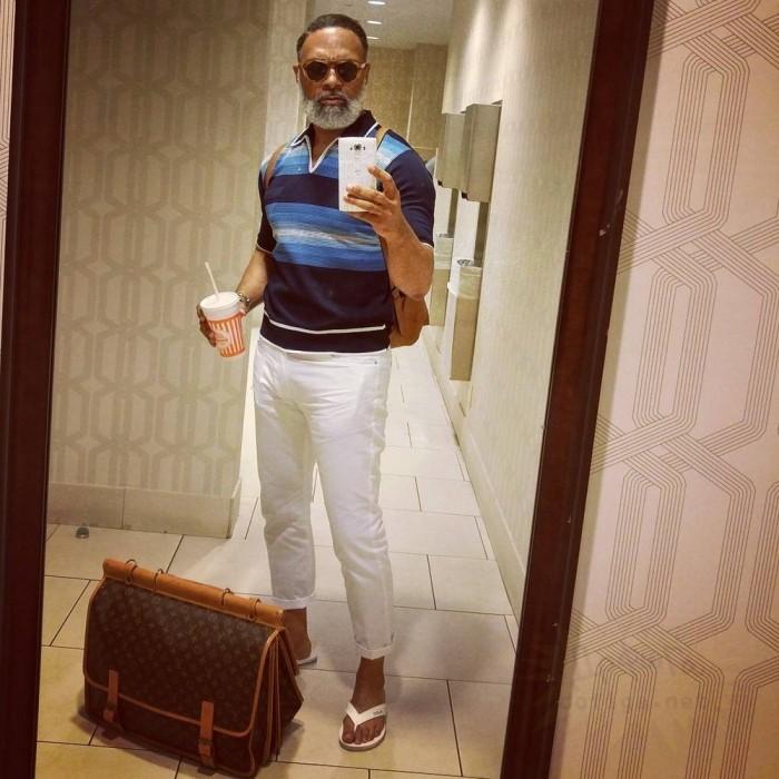 Дед-хипстер стал звездой Instagram