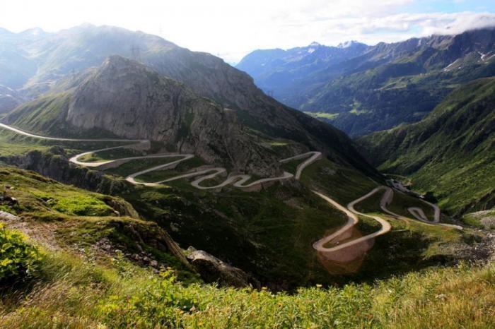 Самые удивительные дороги мира (41 фото)