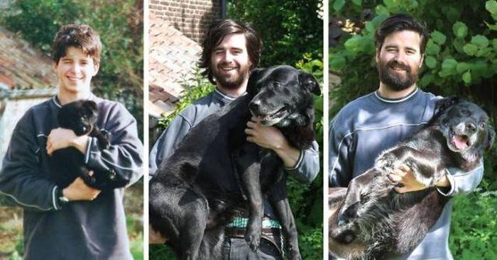 Первый и последний снимок домашних животных
