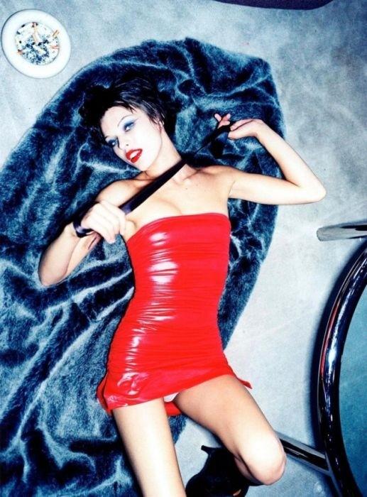 Малоизвестная фотосессия актрисы Миллы Йовович 1997 года