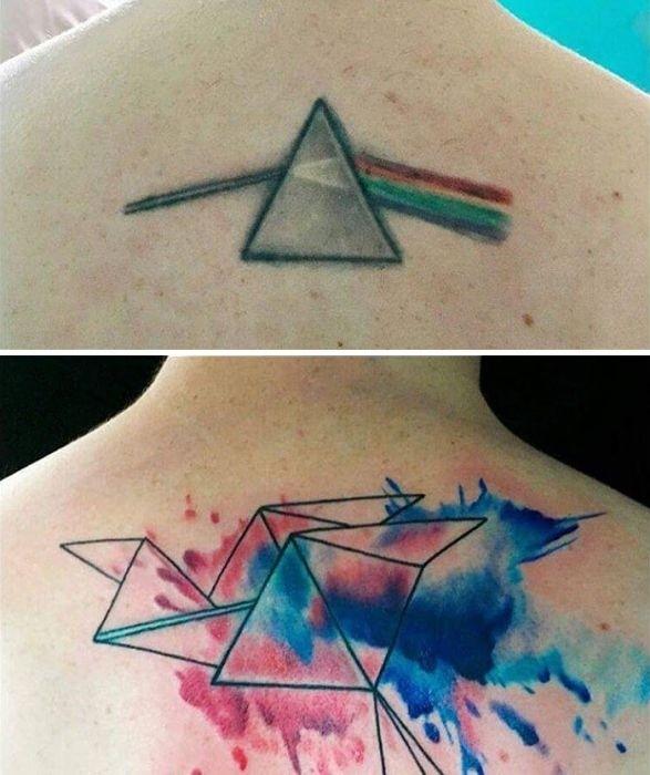 Исправленные татуировки