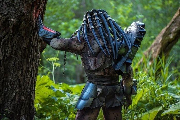 Невероятно реалистичный костюм Хищника