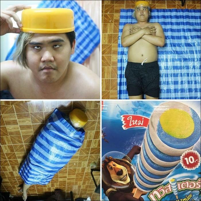 Дешевый косплей от тайского парня