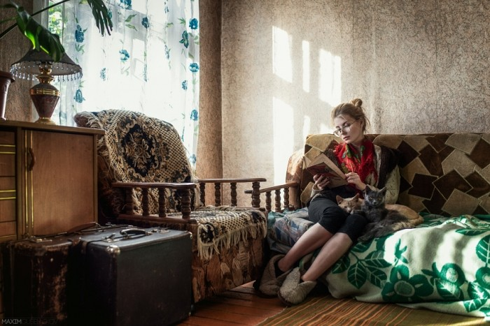 Фото девушек с питомцами
