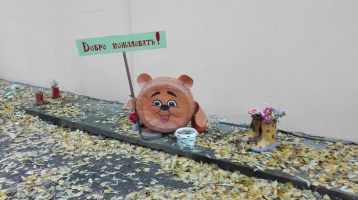 Детские площадки как витрина народного творчества