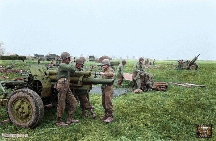 Цветные фото времен Второй мировой войны