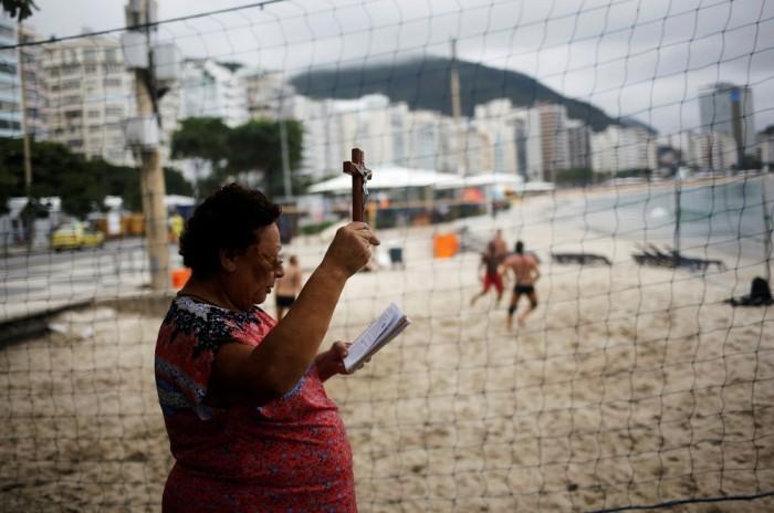 Пляжная жизнь Рио-де-Жанейро