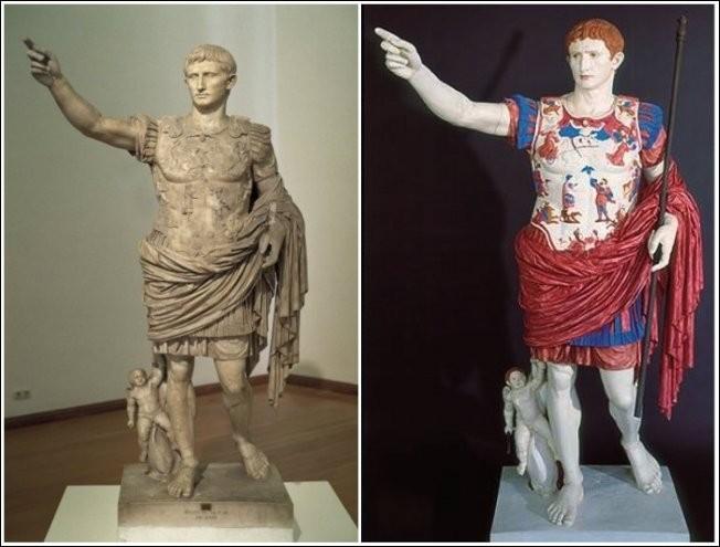 Какими на самом деле были античные скульптуры