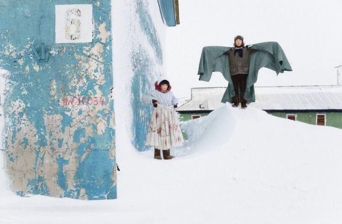 Знакомство с поселком Тикси по фото Евгении Арбугаевой