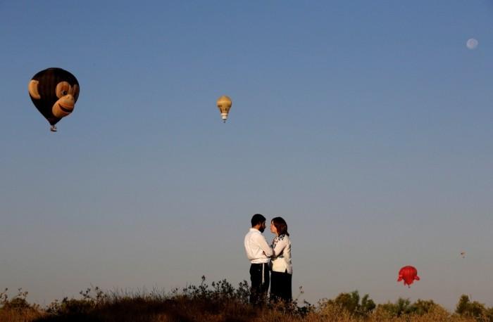Фестиваль воздушных шаров в Израиле