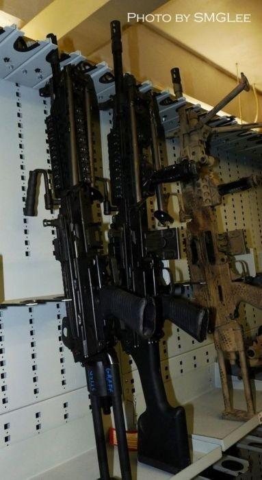 Оружейная комната «Морских котиков» ВМС США