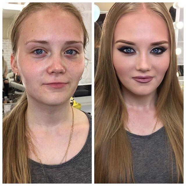 На что способен макияж