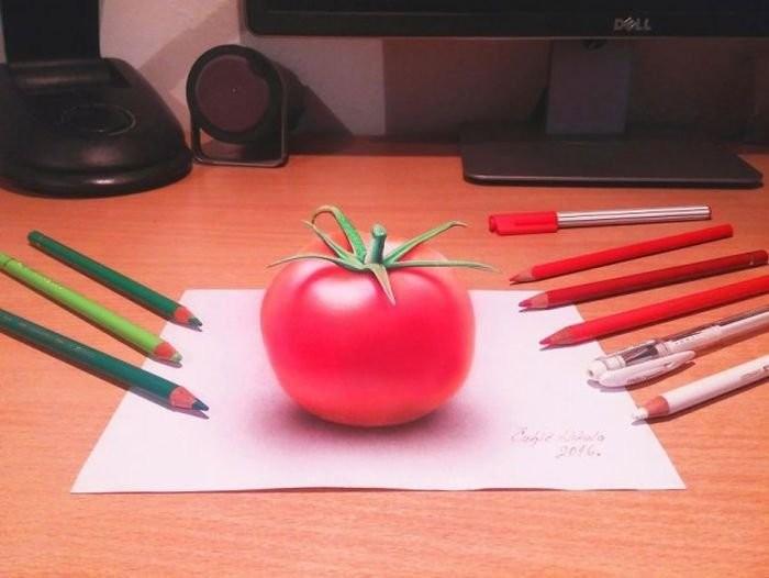 Реалистичные 3D-рисунки Николы Чульича