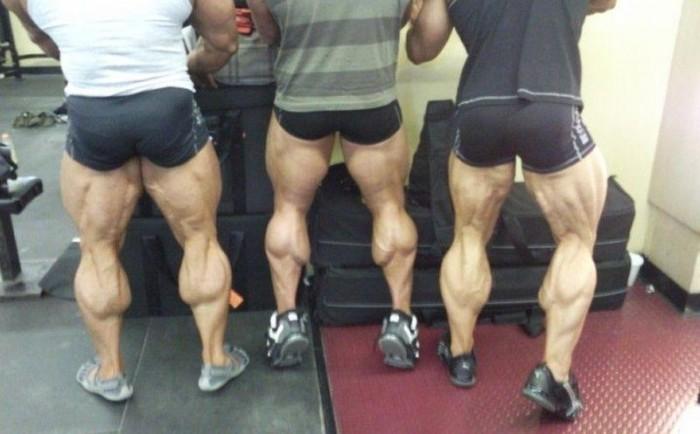 Как выглядят перекачанные ноги