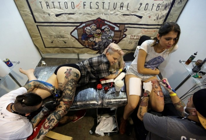 Неделя татуировок в Сан-Паулу