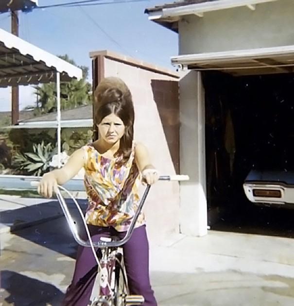 Женские прически 60-х