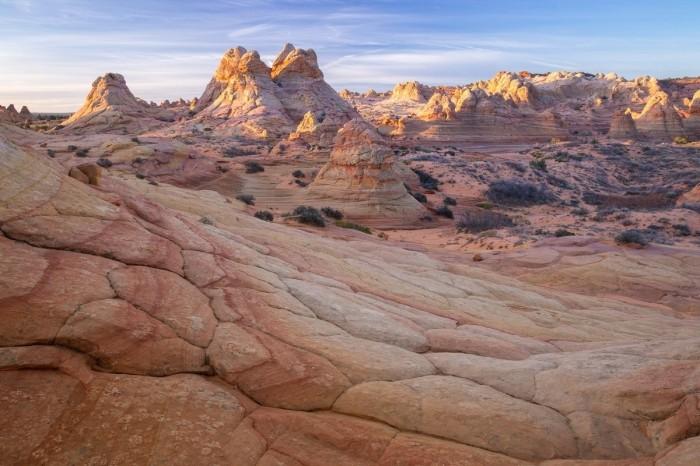 Сюрреалистические пейзажи пустыни в США