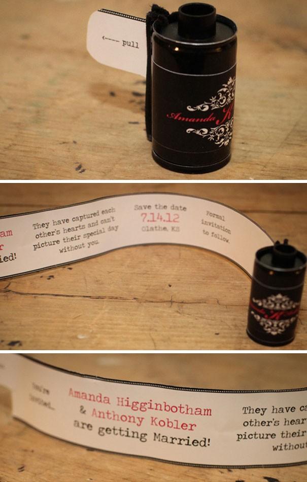 Оригинальные свадебные приглашения, от которых невозможно отказаться (21 фото)