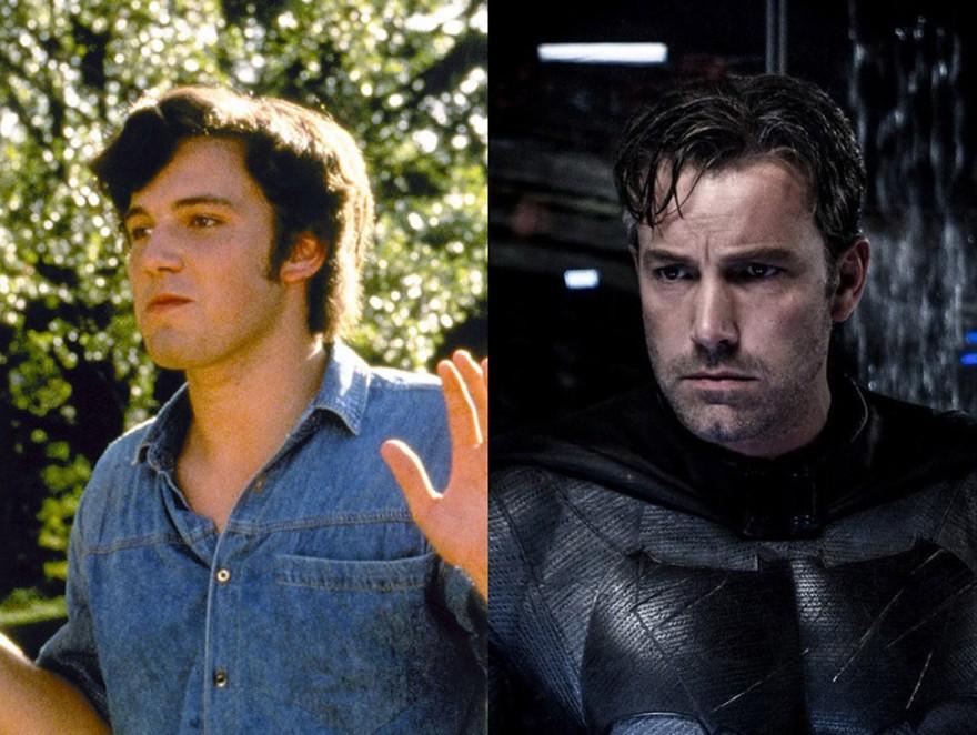 Знаменитые актеры в своих первых фильмах и сейчас