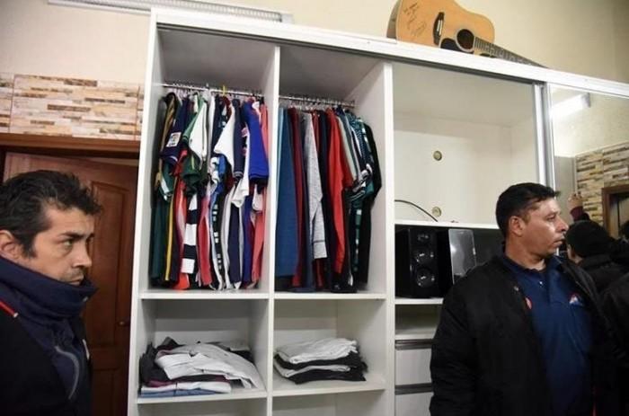 Роскошная камера бразильского наркобарона Жарвиса Павана в парагвайской тюрьме