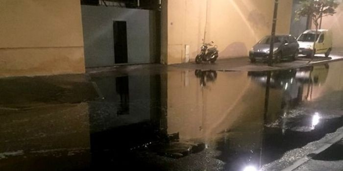 Винный потоп во французском городе Сет