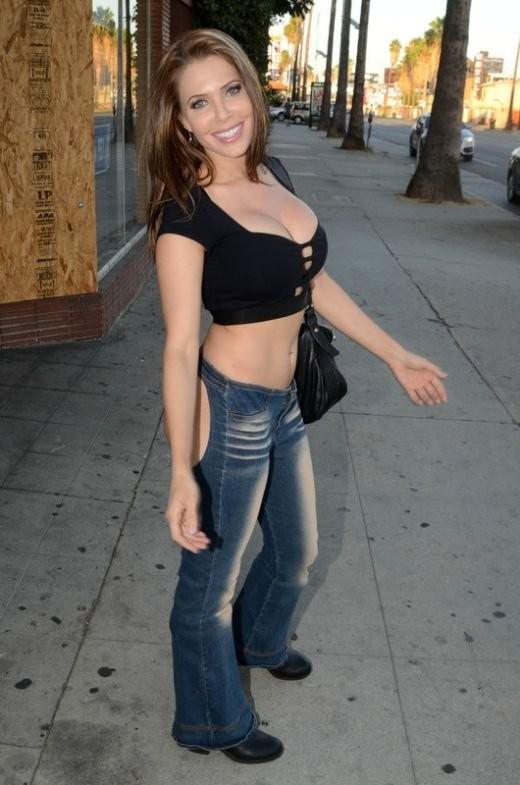Эрика Джордан в правильных джинсах