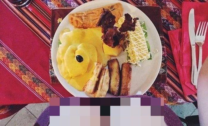 Еда глазами женщин