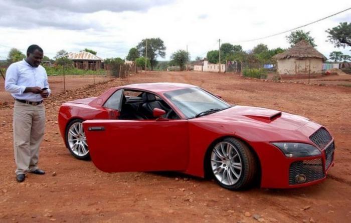 Южноафриканец построил собственный суперкар за три года (9 фото)