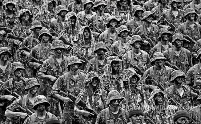 Китайский спецназ (10 фото)