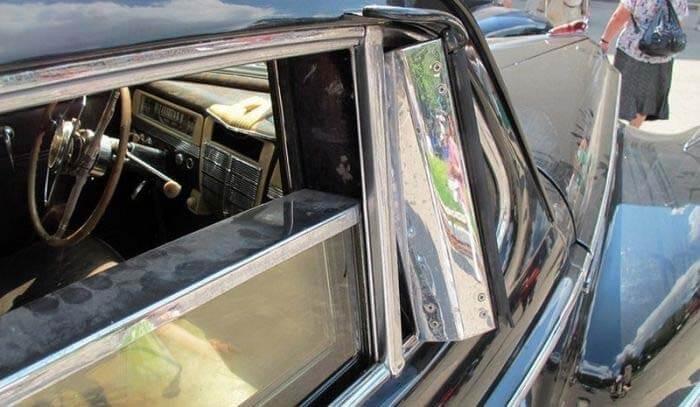 Пуленепробиваемые стекла советского лимузина ЗИС-115