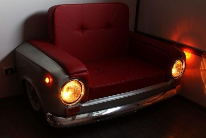 Прикольное кресло из ВАЗ-2101