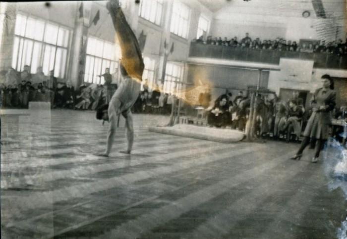 Гимнастика в СССР сразу после Великой Отечественной войны