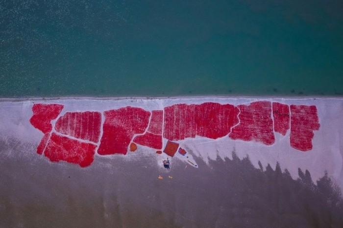 Потрясающие аэрофотоснимки Бангладеш