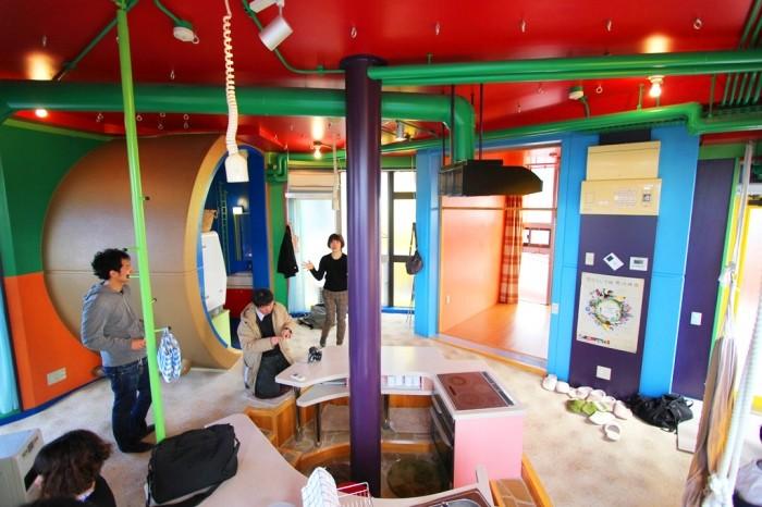 Дом-тренажер в Японии