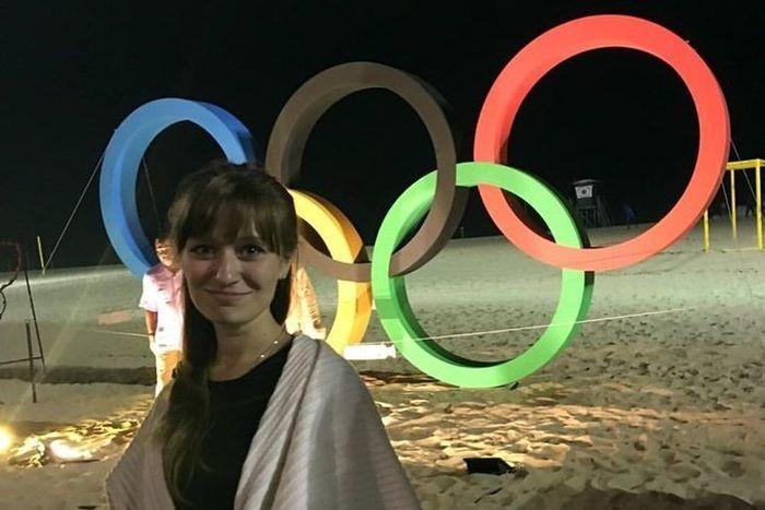 Девушка-волонтер о своей деятельности на Олимпиаде в Рио