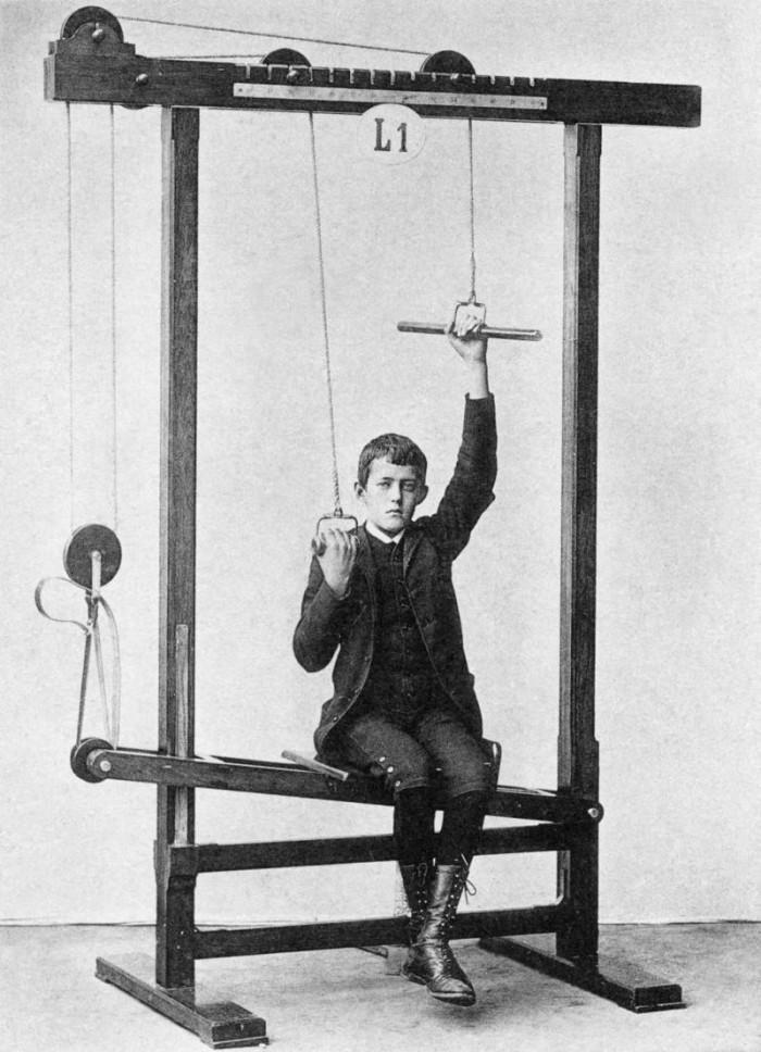 Фитнес-тренажеры конца XIX века