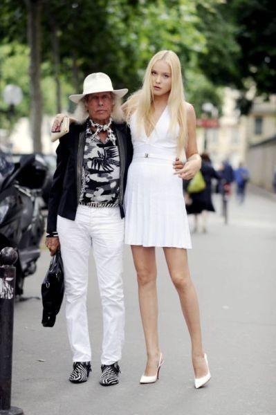 Белорусская модель предпочитает мужчин с опытом (14 фото)