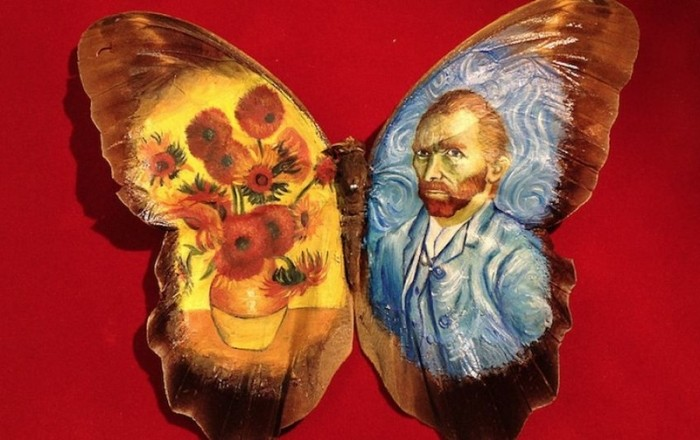 Удивительные картины на крыльях бабочек