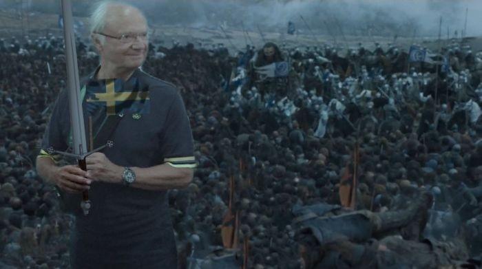 Король Швеции стал героем фотожаб
