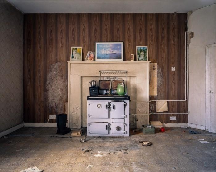 Заброшенные дома на Гебридских островах