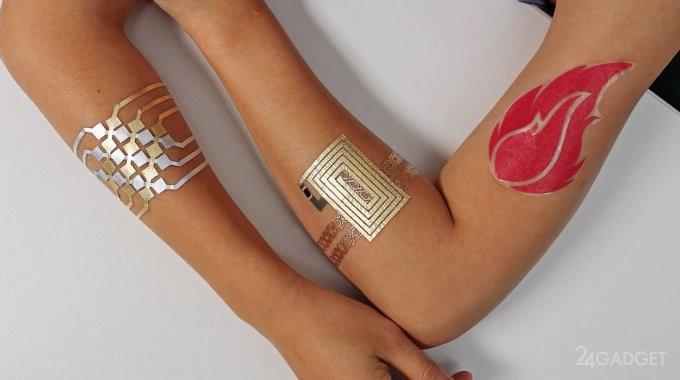 Созданы тату-тачпады для управления гаджетами (3 фото + видео)