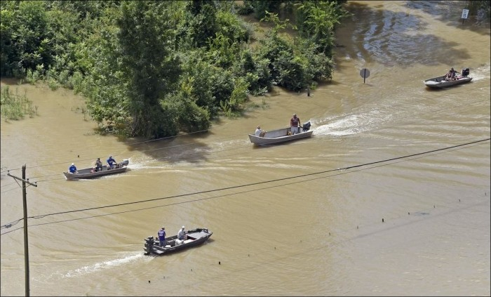 Наводнение в Луизиане
