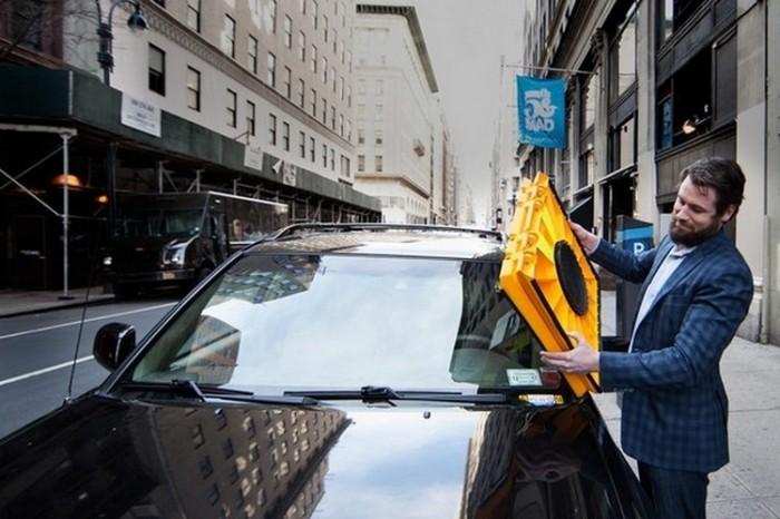 Блокиратор на стекло авто